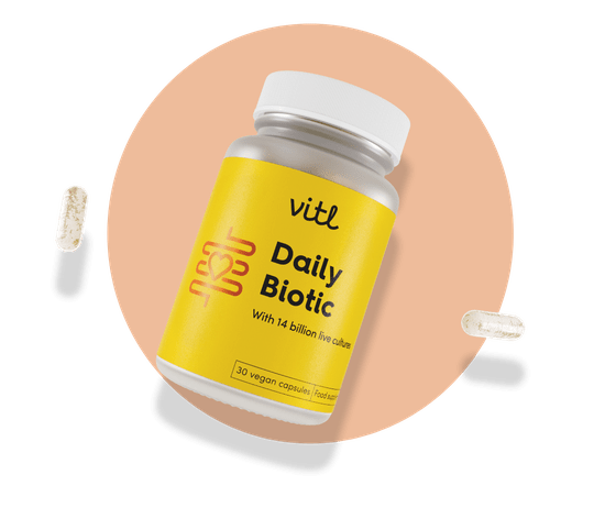 Daily Biotic - Good bacteria to help keep your gut healthy